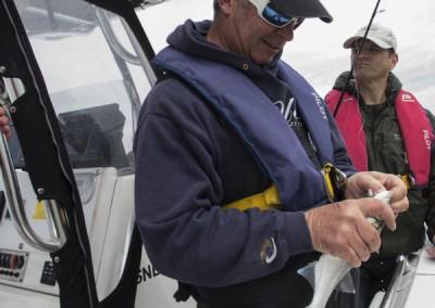 Essais de matériel en mer avec Franck Courdier